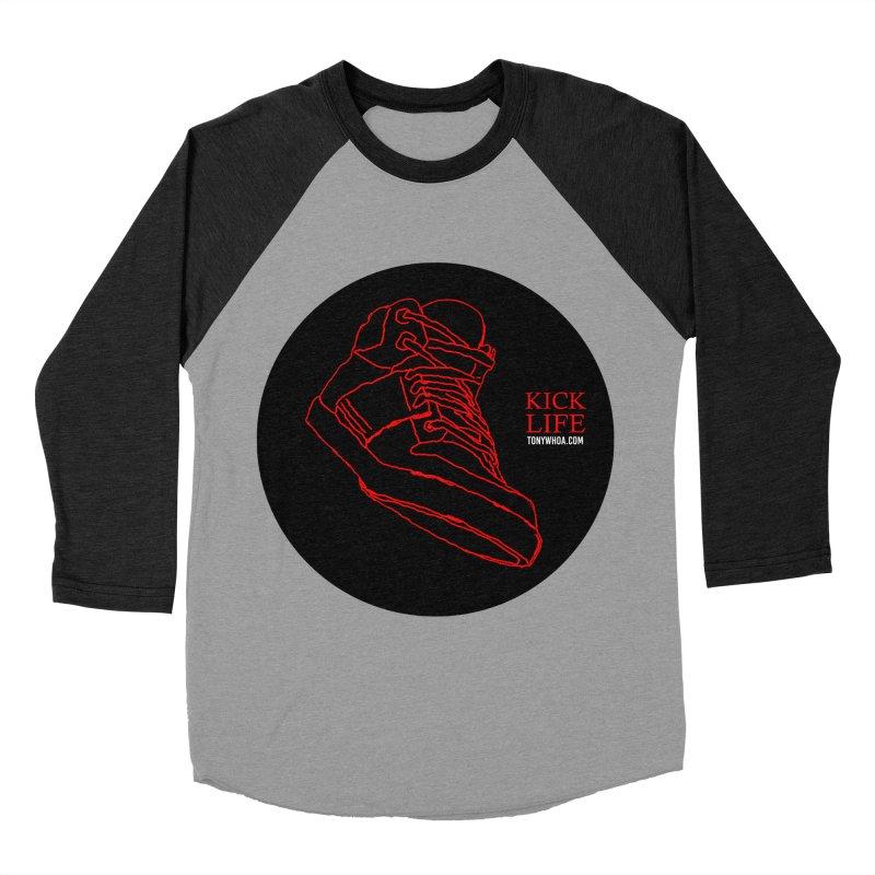 Kick Life Tres Women's Baseball Triblend Longsleeve T-Shirt by TonyWHOA!
