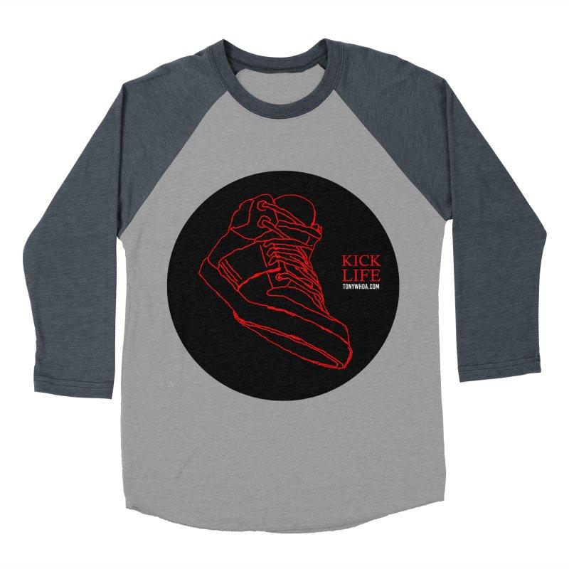 Kick Life Tres Women's Baseball Triblend T-Shirt by TonyWHOA! Artist Shop