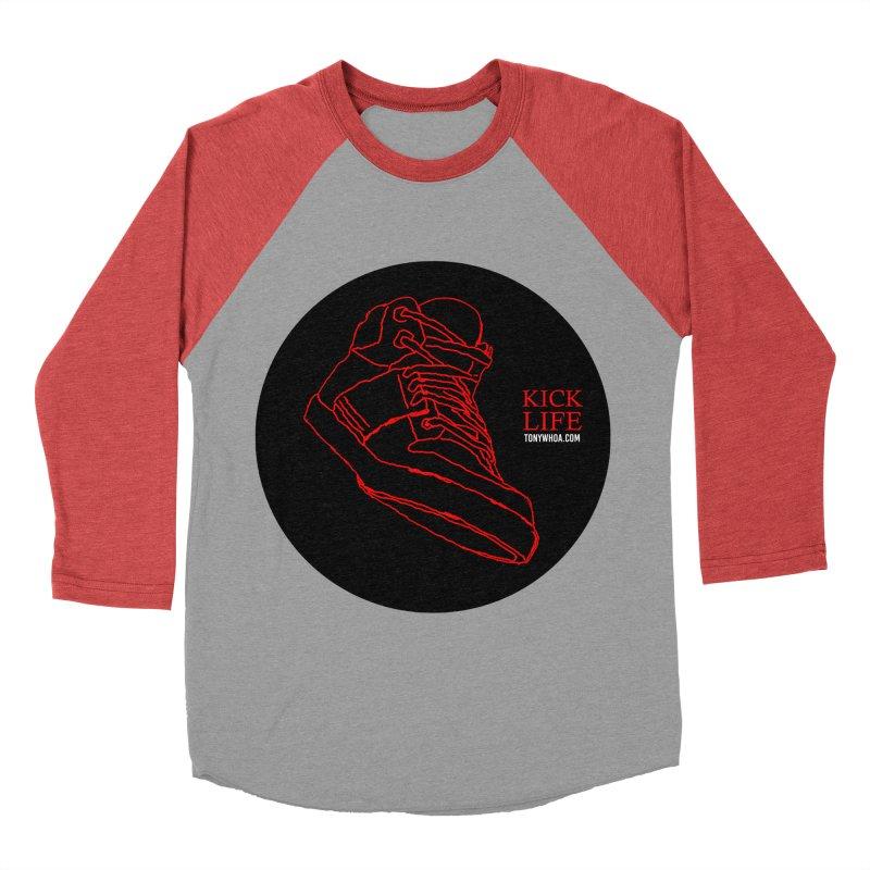 Kick Life Tres Men's Baseball Triblend T-Shirt by TonyWHOA! Artist Shop