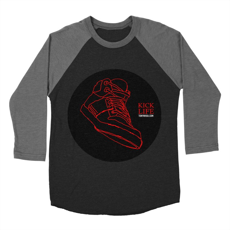 Kick Life Tres Men's Baseball Triblend T-Shirt by TonyWHOA! Artist Shop
