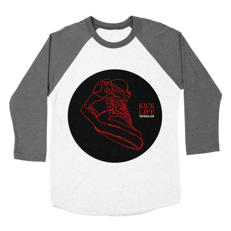 Kick Life Tres Men's Baseball Triblend Longsleeve T-Shirt by TonyWHOA!