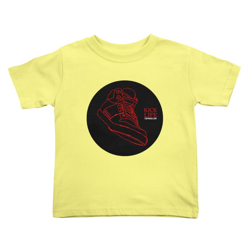 Kick Life Tres Kids Toddler T-Shirt by TonyWHOA! Artist Shop