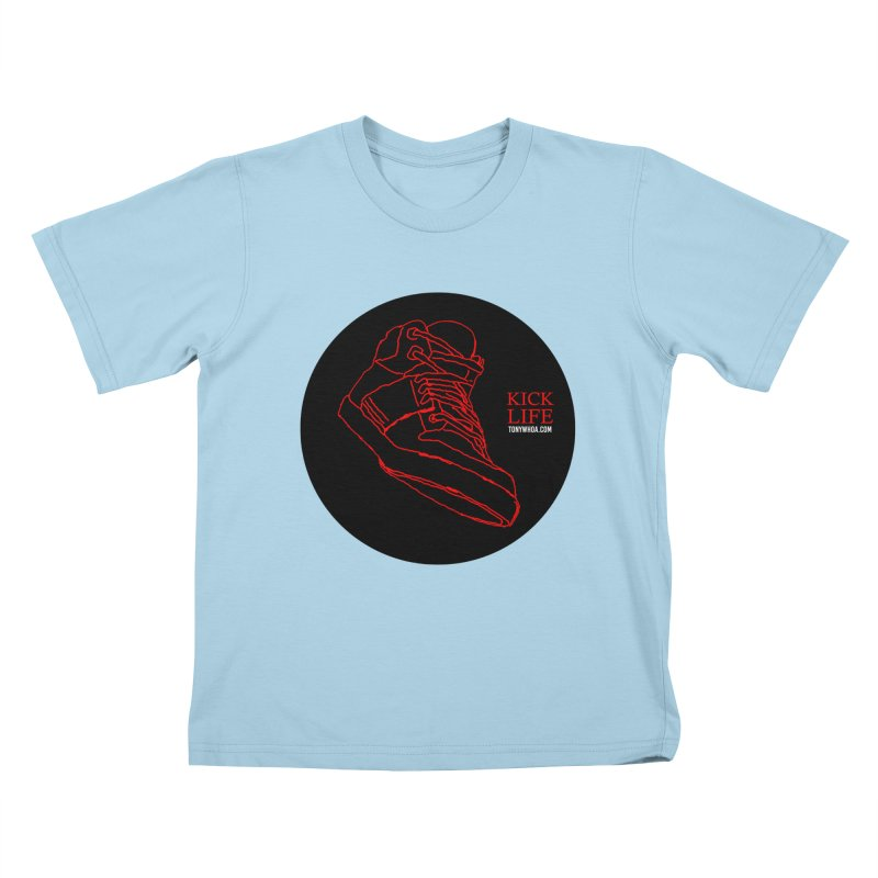 Kick Life Tres Kids T-Shirt by TonyWHOA! Artist Shop