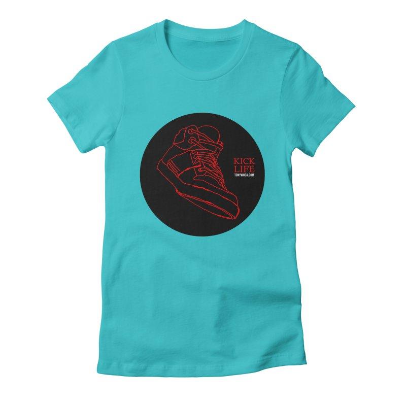 Kick Life Tres Women's Fitted T-Shirt by TonyWHOA!