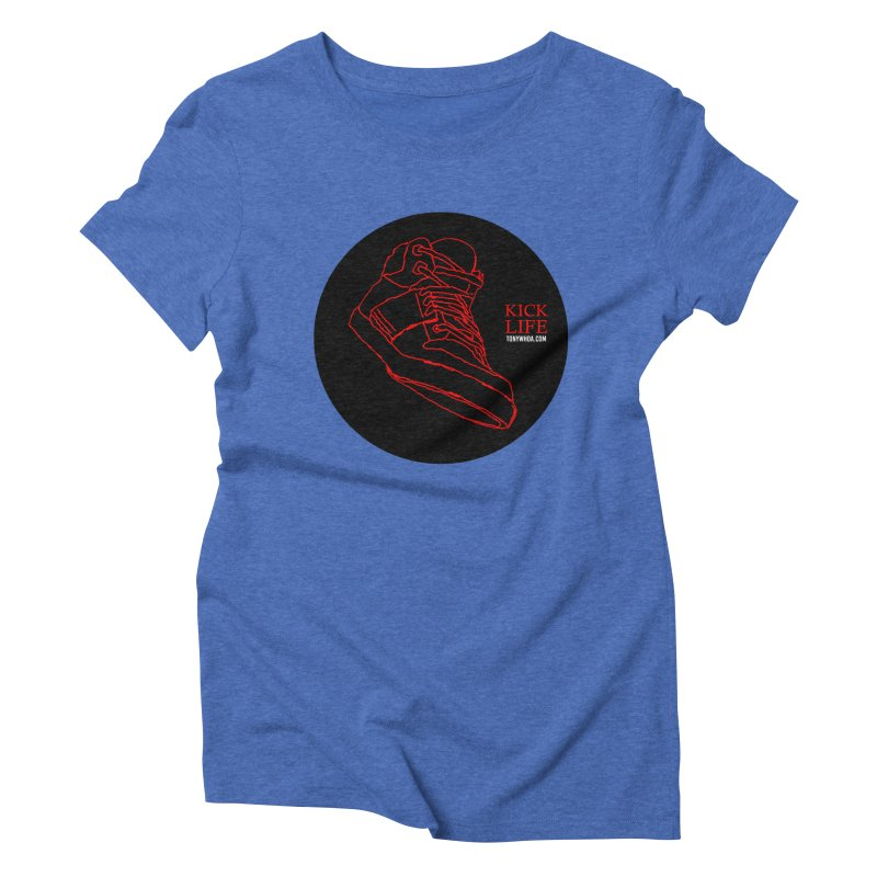 Kick Life Tres Women's Triblend T-Shirt by TonyWHOA!