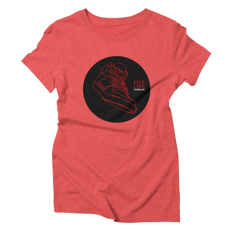 Kick Life Tres Women's Triblend T-Shirt by TonyWHOA! Artist Shop