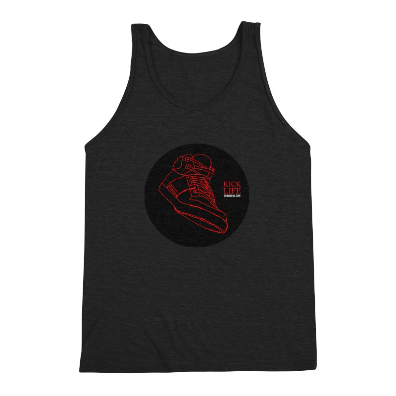 Kick Life Tres Men's Triblend Tank by TonyWHOA!