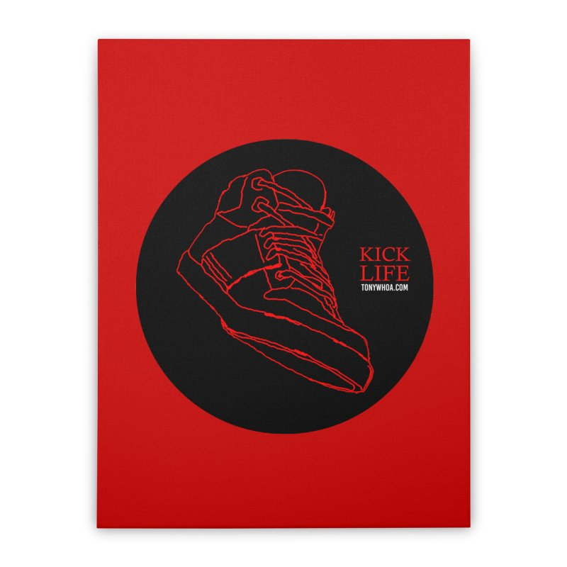 Kick Life Tres Home Stretched Canvas by TonyWHOA! Artist Shop