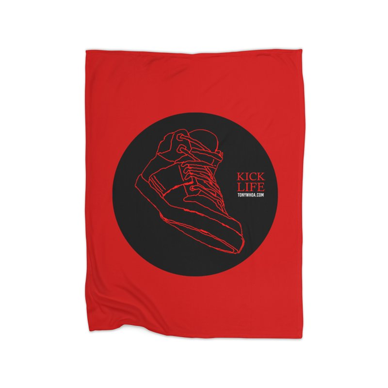 Kick Life Tres Home Blanket by TonyWHOA! Artist Shop