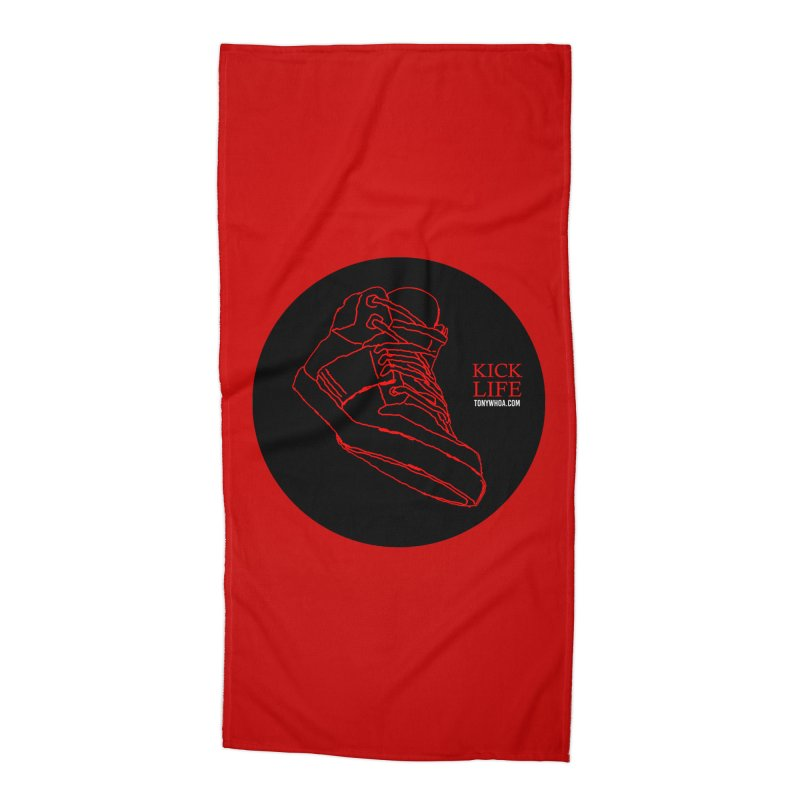 Kick Life Tres Accessories Beach Towel by TonyWHOA!