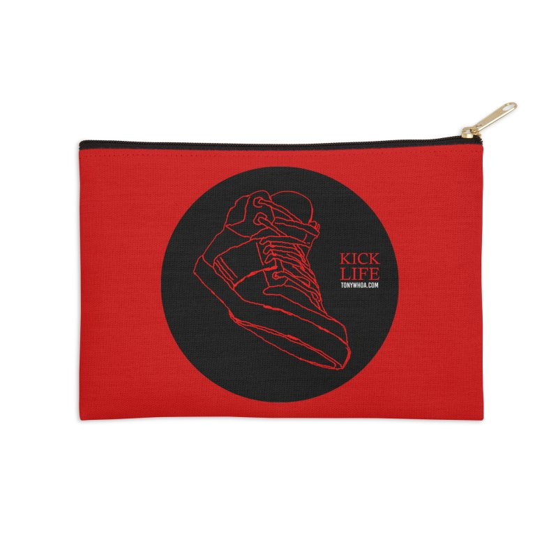 Kick Life Tres Accessories Zip Pouch by TonyWHOA! Artist Shop