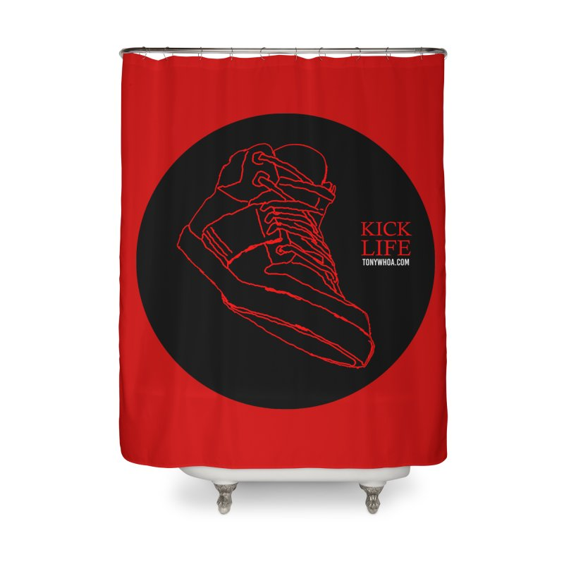 Kick Life Tres Home Shower Curtain by TonyWHOA!