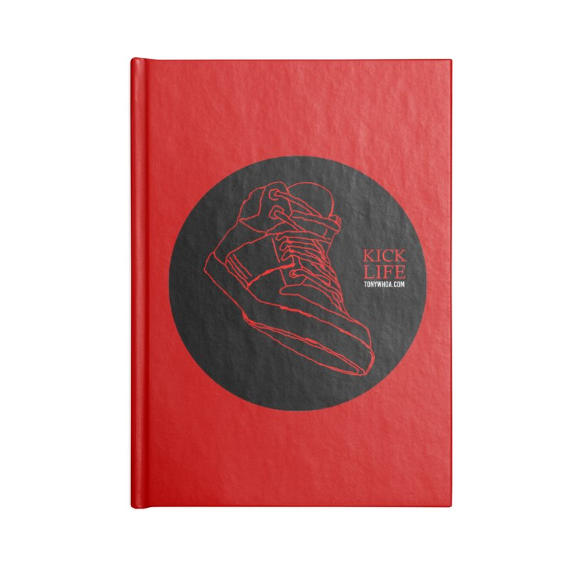 Kick Life Tres Accessories Notebook by TonyWHOA! Artist Shop