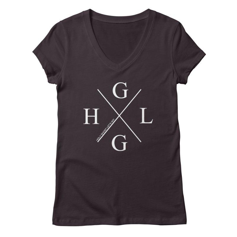 HGLG 2 Women's Regular V-Neck by TonyWHOA! Artist Shop