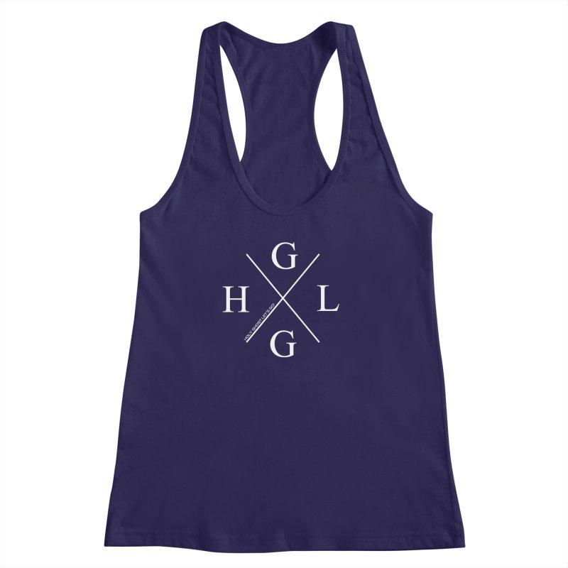 HGLG 2 Women's Racerback Tank by TonyWHOA! Artist Shop