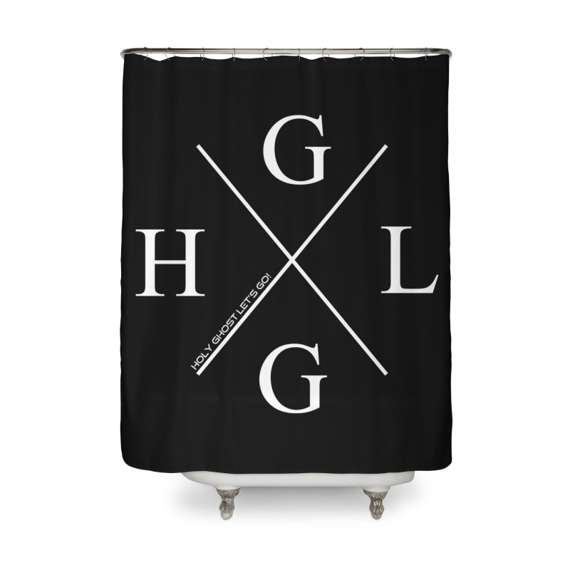 HGLG 2 Home Shower Curtain by TonyWHOA!