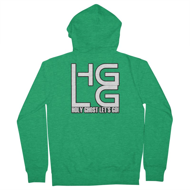 HGLG 3 Women's French Terry Zip-Up Hoody by TonyWHOA! Artist Shop
