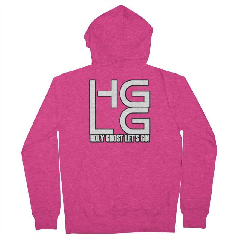 HGLG 3 Women's French Terry Zip-Up Hoody by TonyWHOA!