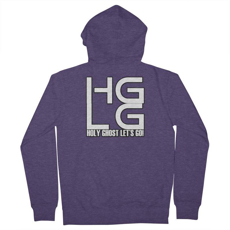 HGLG 3 Men's Zip-Up Hoody by TonyWHOA! Artist Shop