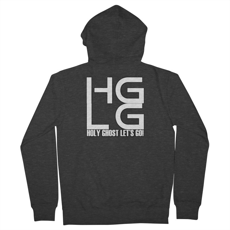 HGLG 3 Men's French Terry Zip-Up Hoody by TonyWHOA!
