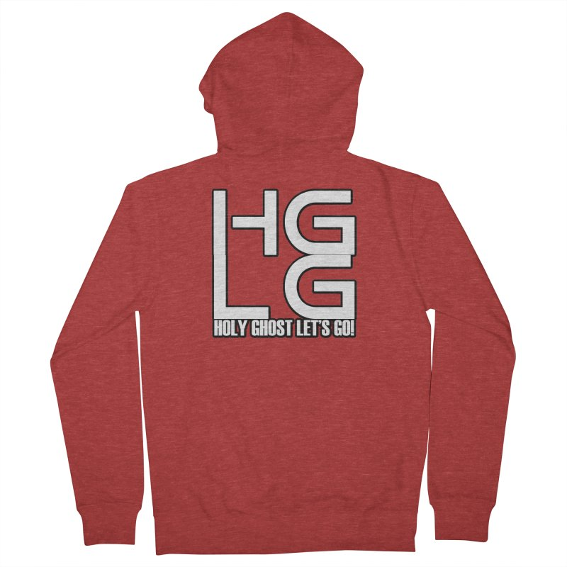 HGLG 3 Men's French Terry Zip-Up Hoody by TonyWHOA! Artist Shop