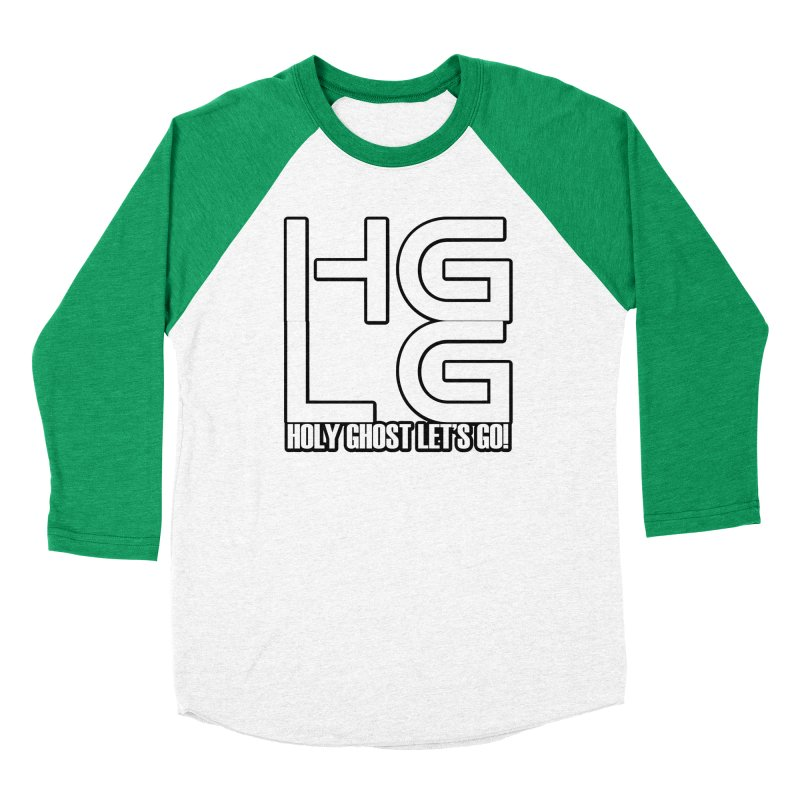 HGLG 3 Men's Baseball Triblend Longsleeve T-Shirt by TonyWHOA!