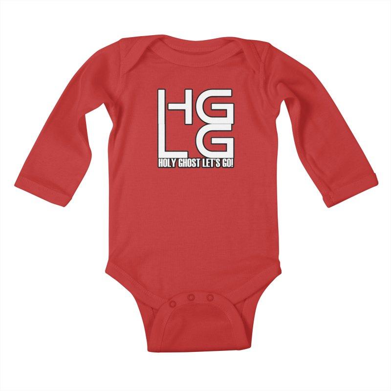 HGLG 3 Kids Baby Longsleeve Bodysuit by TonyWHOA! Artist Shop