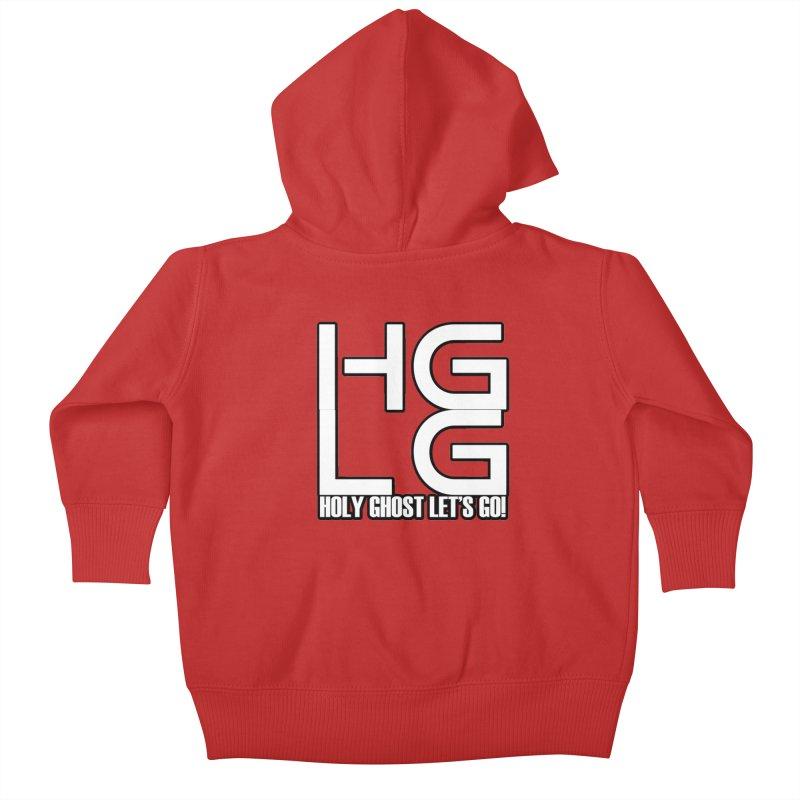 HGLG 3 Kids Baby Zip-Up Hoody by TonyWHOA! Artist Shop