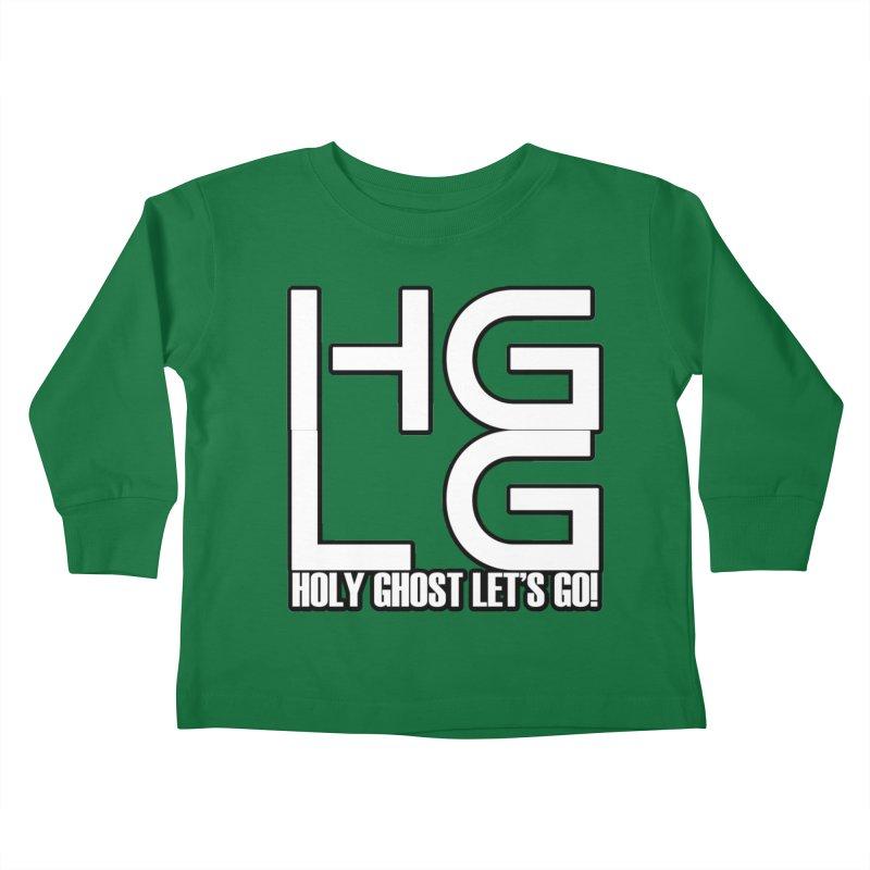 HGLG 3 Kids Toddler Longsleeve T-Shirt by TonyWHOA! Artist Shop