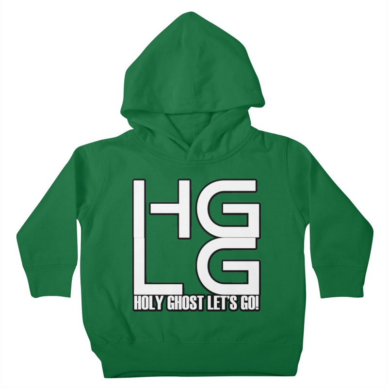 HGLG 3 Kids Toddler Pullover Hoody by TonyWHOA! Artist Shop
