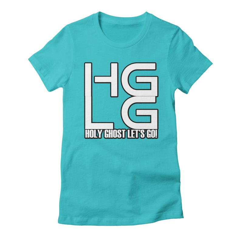HGLG 3 Women's Fitted T-Shirt by TonyWHOA! Artist Shop