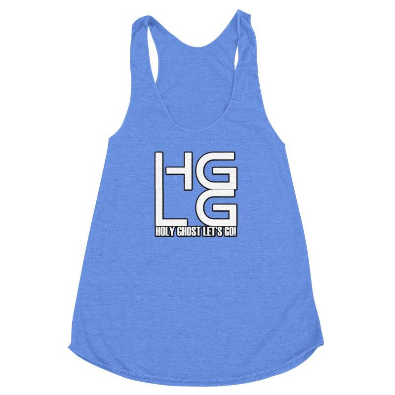 HGLG 3 Women's Racerback Triblend Tank by TonyWHOA! Artist Shop