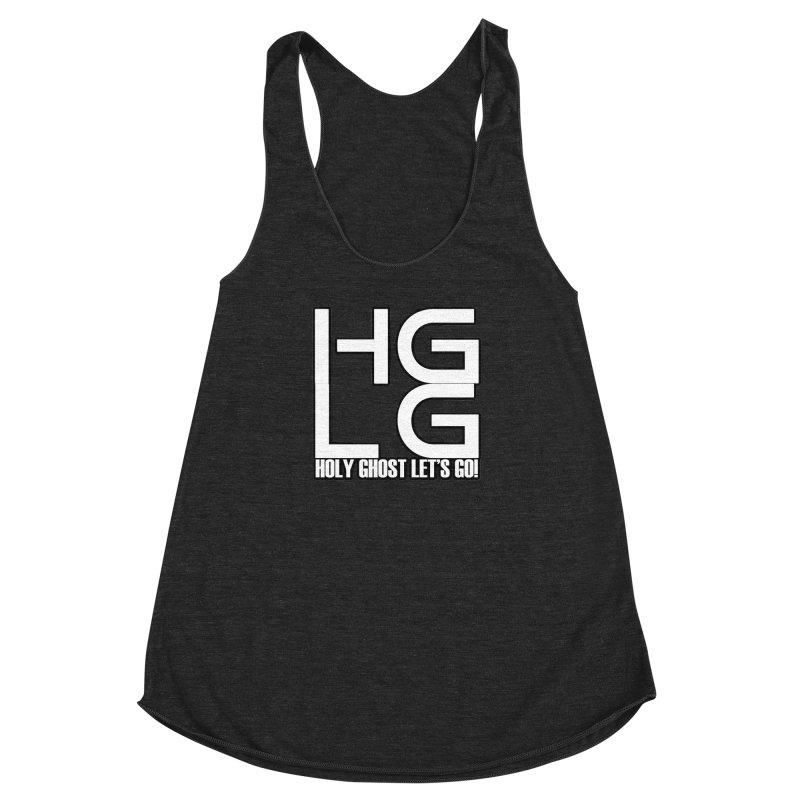 HGLG 3 Women's Racerback Triblend Tank by TonyWHOA!