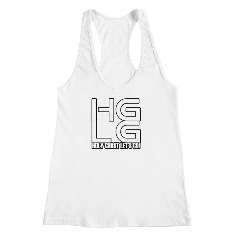 HGLG 3 Women's Racerback Tank by TonyWHOA! Artist Shop