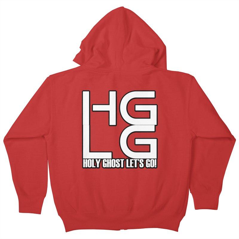 HGLG 3 Kids Zip-Up Hoody by TonyWHOA! Artist Shop