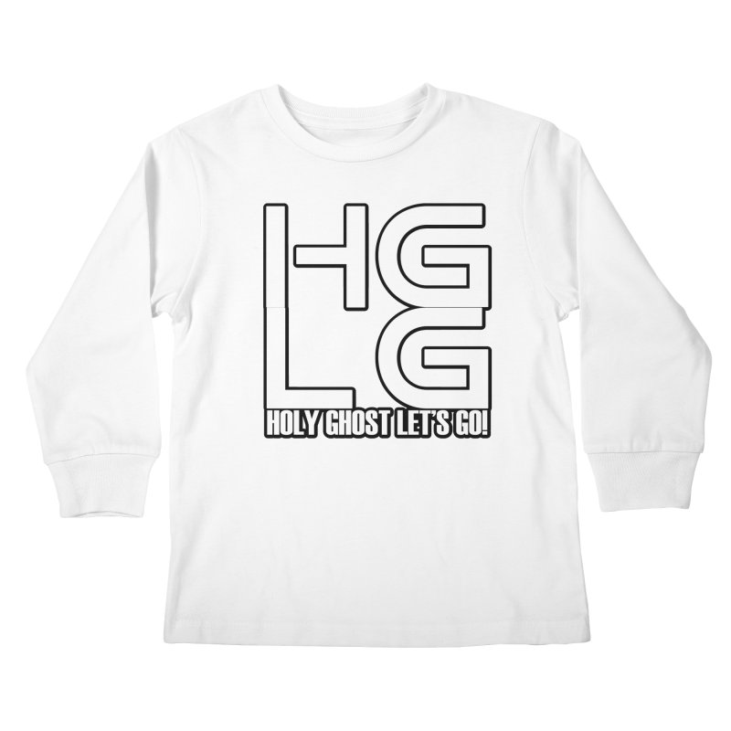 HGLG 3 Kids Longsleeve T-Shirt by TonyWHOA! Artist Shop