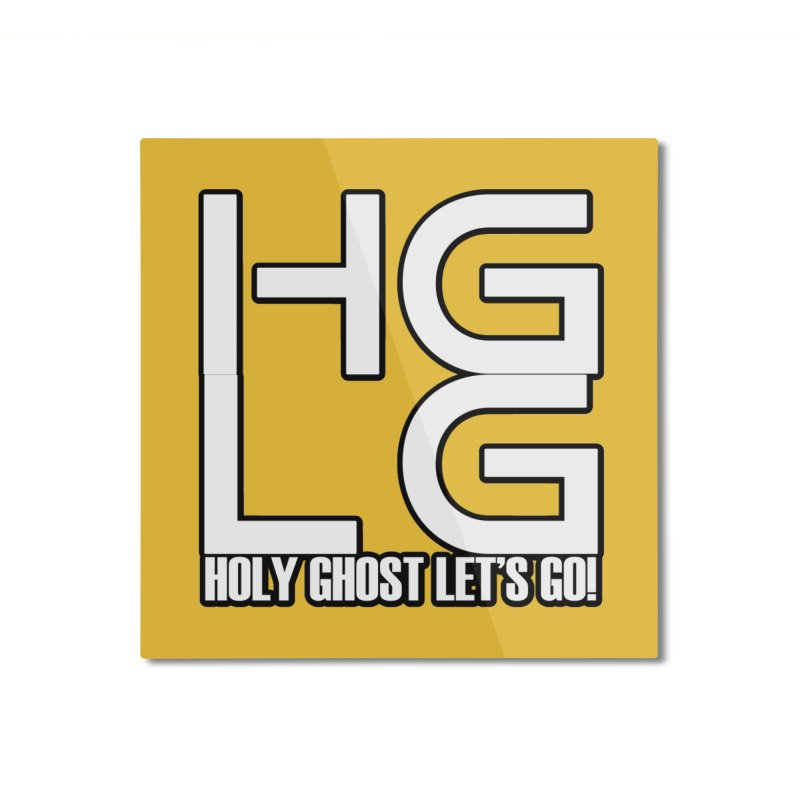 HGLG 3 Home Mounted Aluminum Print by TonyWHOA! Artist Shop