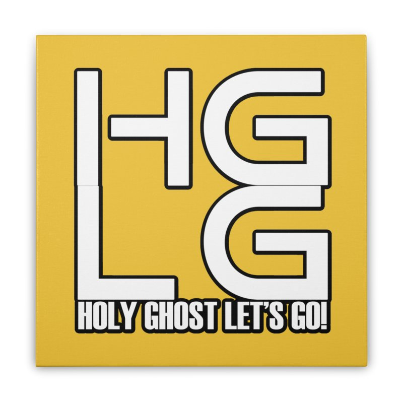 HGLG 3 Home Stretched Canvas by TonyWHOA! Artist Shop