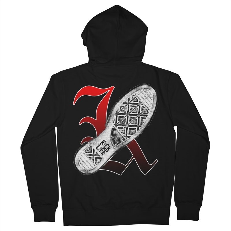 Kick Life 4 Women's French Terry Zip-Up Hoody by TonyWHOA!
