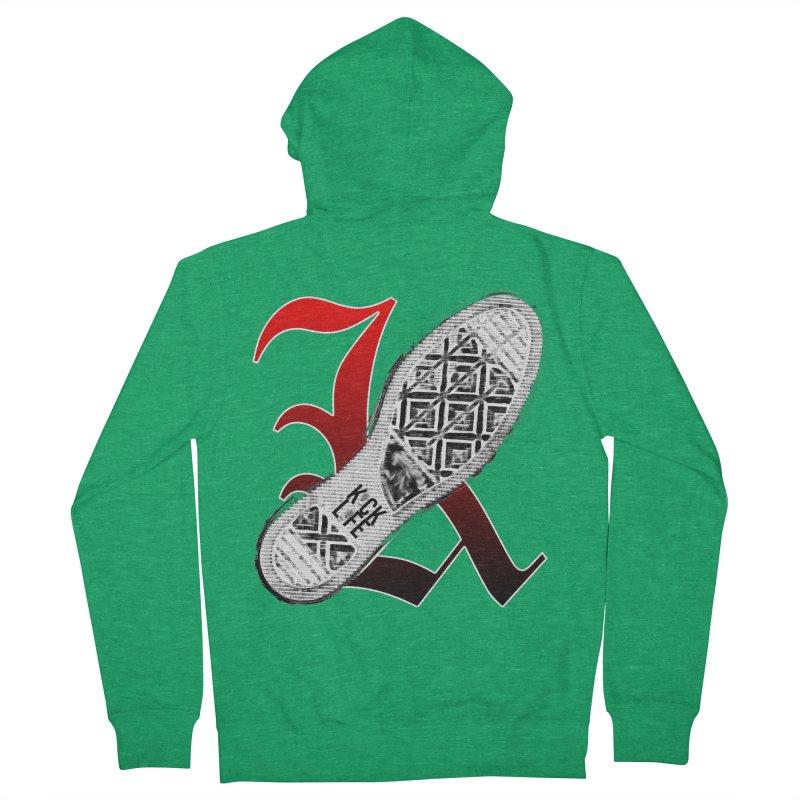 Kick Life 4 Men's French Terry Zip-Up Hoody by TonyWHOA!