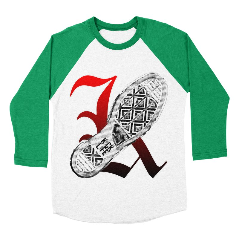 Kick Life 4 Women's Baseball Triblend Longsleeve T-Shirt by TonyWHOA!