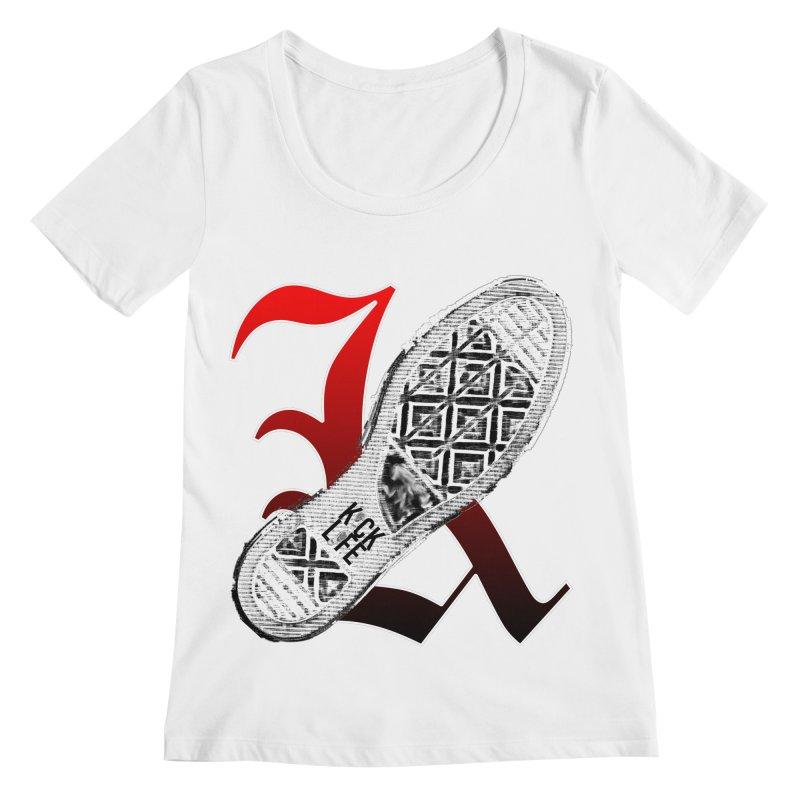 Kick Life 4 Women's Regular Scoop Neck by TonyWHOA!