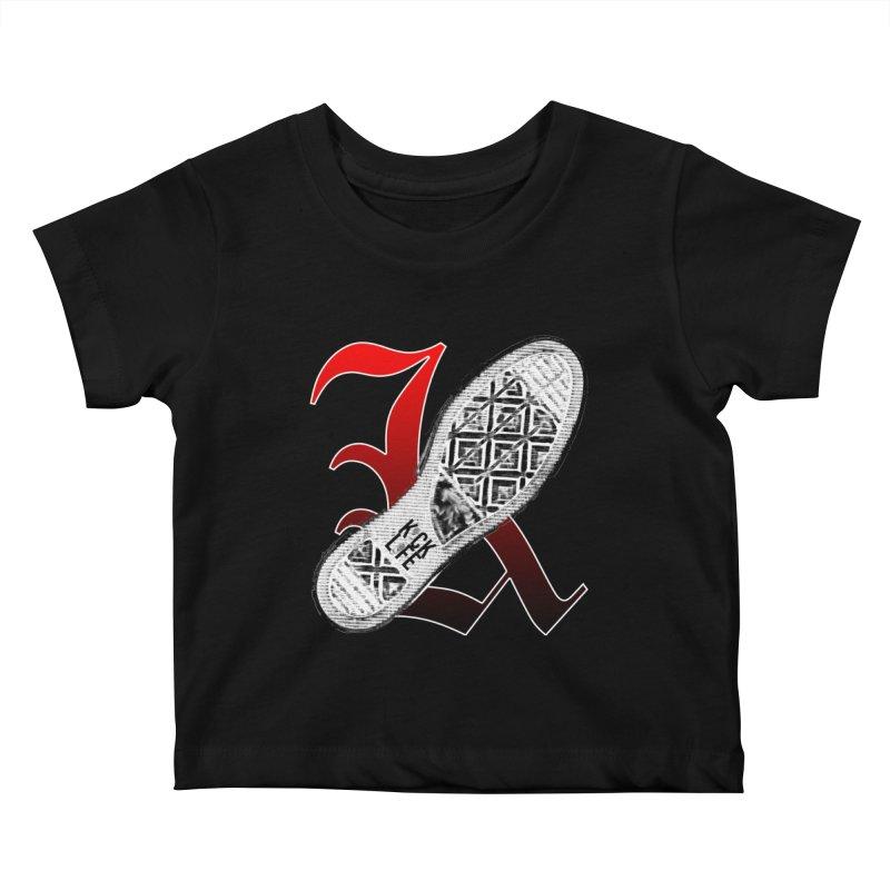 Kick Life 4 Kids Baby T-Shirt by TonyWHOA!