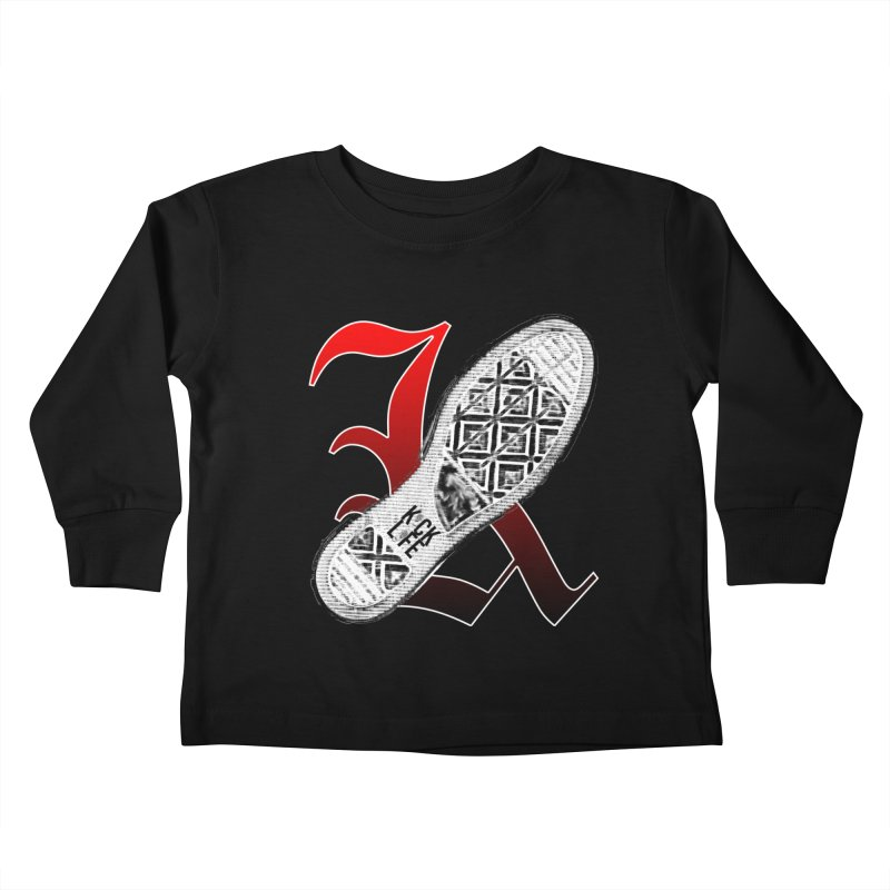 Kick Life 4 Kids Toddler Longsleeve T-Shirt by TonyWHOA!