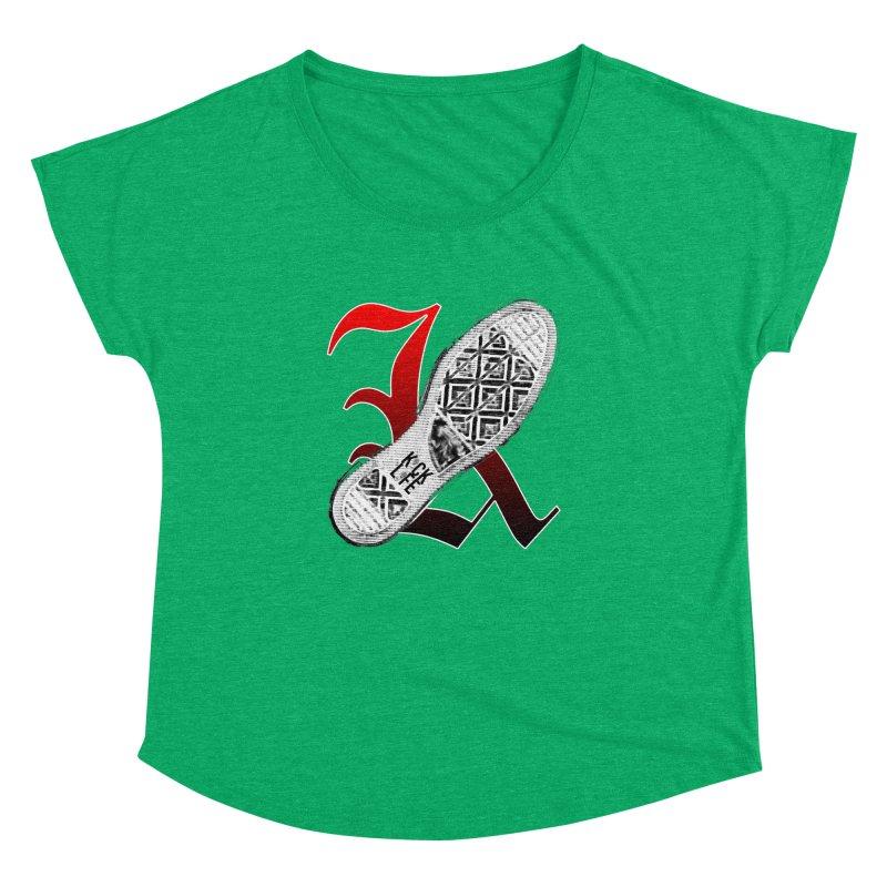 Kick Life 4 Women's Dolman Scoop Neck by TonyWHOA!