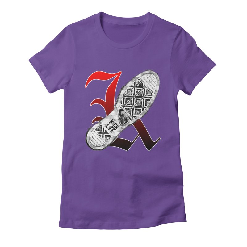 Kick Life 4 Women's Fitted T-Shirt by TonyWHOA!