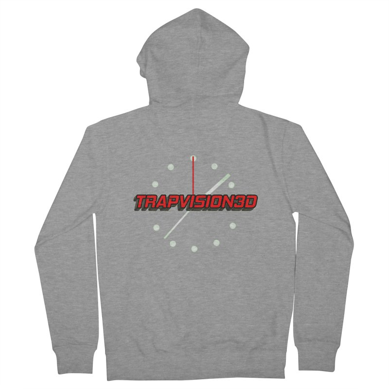 Trap 1 Men's French Terry Zip-Up Hoody by TonyWHOA!