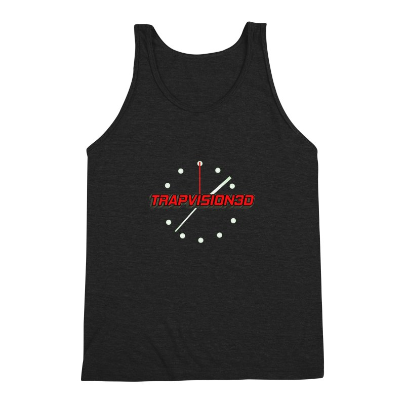 Trap 1 Men's Triblend Tank by TonyWHOA!