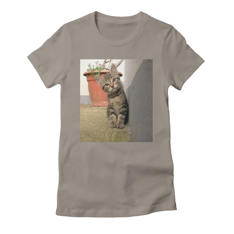 bust that cache Women's Fitted T-Shirt by toolbar's Artist Shop