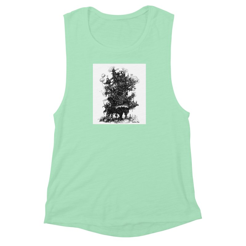 0a99c8942f4d470793ddff8e2e6b85c7 Women's Muscle Tank by toolbar's Artist Shop